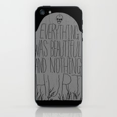 slaughterhouse V - everything was beautiful - vonnegut iPhone & iPod Skin