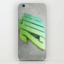 Anaglyph // XYZ iPhone Skin