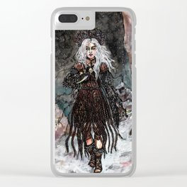 Nothern combat witch Clear iPhone Case