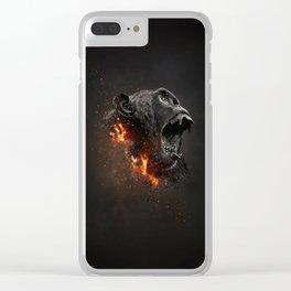 XTINCT x Monkey Clear iPhone Case