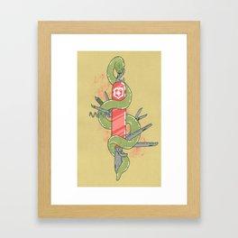 Swisssss Framed Art Print