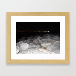 on my way back home Framed Art Print
