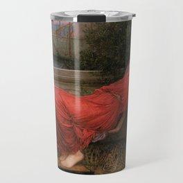 Ariadne, John William Waterhouse Travel Mug