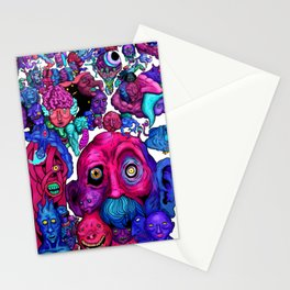 Mind of a thousand Thoughts Stationery Cards