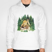 laura palmer Hoodies featuring Twin Peaks Secret Diary of Laura Palmer by Lindsey Caneso