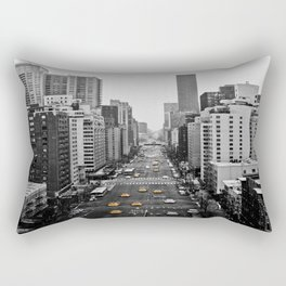 Black Cab Rectangular Pillow