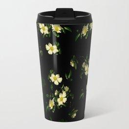 Cherokee White Roses Travel Mug