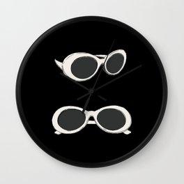60s Retro Sunglasses   Mod Wall Clock