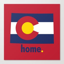 Colorado Proud Canvas Print