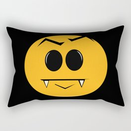 Vampire Smilie Rectangular Pillow