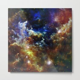 Cradle of Stars Metal Print