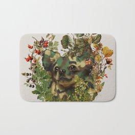 Camo Chihuahua Forest Adventure Bath Mat