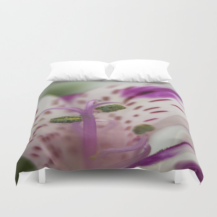 Lily Of The Incas Duvet Cover