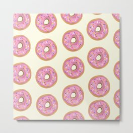 Strawberry Frosted Metal Print