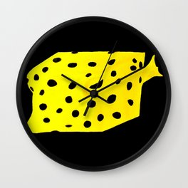 Spongebob Boxfish Wall Clock