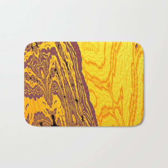 from yellow dunes to ugly shore Bath Mat