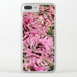 Flowers 4 Clear iPhone Case