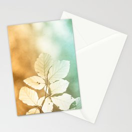 Sun leaves Stationery Cards