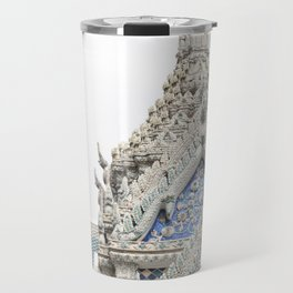 Painted Tiles in the Grand Palace Travel Mug