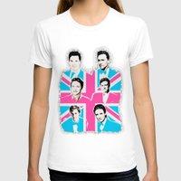 british T-shirts featuring british men by Olga Panteleyeva