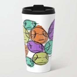 Medicated Metal Travel Mug