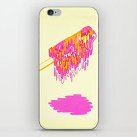 popsicle iPhone & iPod Skins featuring Popsicle by Dewey Saunders
