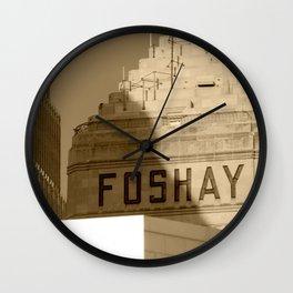 Foshay Tower Wall Clock