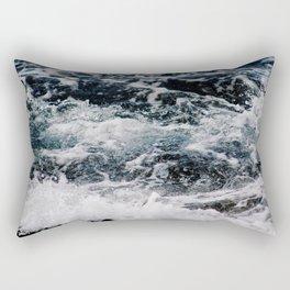 SEA - OCEAN - WAVES - WATER - NATURE Rectangular Pillow