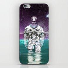 Enceladus Moon Walk iPhone Skin