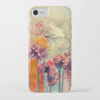 takmaj iPhone & iPod Cases featuring Allium by takmaj