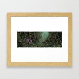 Dragon's Journey Framed Art Print