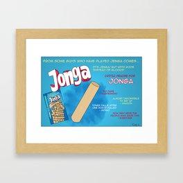 Jonga Framed Art Print