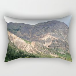 Gold Mines All Along the Animas River Rectangular Pillow