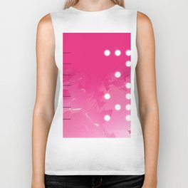 Pink Abstract Passion Biker Tank