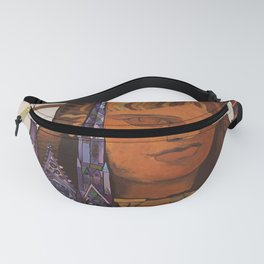 retro New York old psoter Fanny Pack