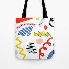 Memphis Zazzle Tote Bag