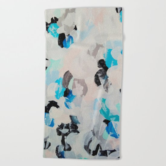 Abstract painting 2 Beach Towel