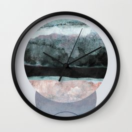 Geometric Textures 12 Wall Clock