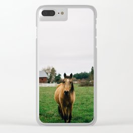 Horse // Oregon Clear iPhone Case