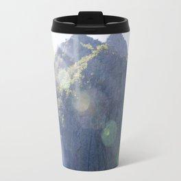 Breathe in the mountain light Travel Mug