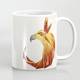 eagle cercle Coffee Mug