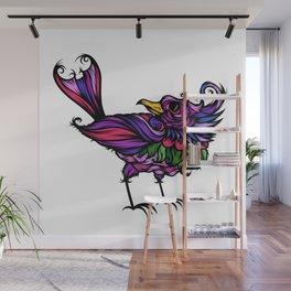 Frilly Bird Wall Mural