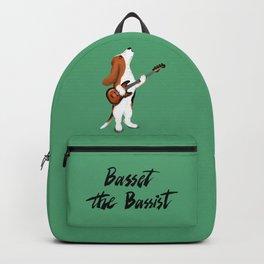 Basset the Bassist (Green) Backpack