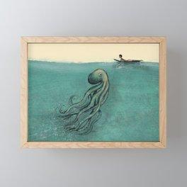 Hello Fellow Being Framed Mini Art Print