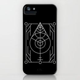 The Leaf Sacred Geometry iPhone Case