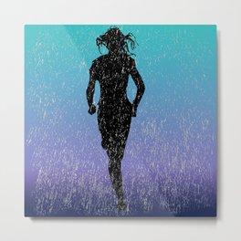 Deluge Dash Metal Print