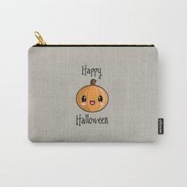 Happy Halloween Pumpkin Kawaii :) Carry-All Pouch
