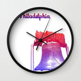 Cities Of America: Philadelphia Wall Clock