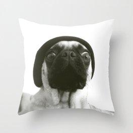 Hipster Lola Throw Pillow