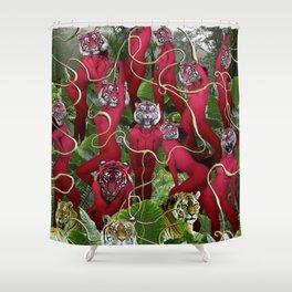 Kairosclerosis Shower Curtain